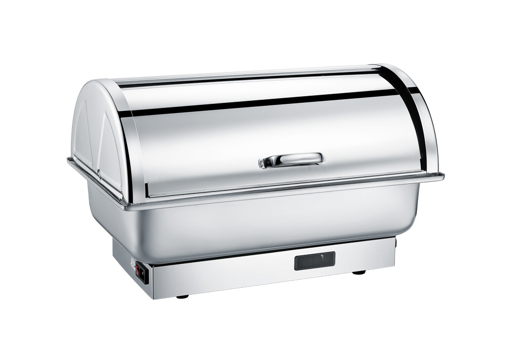 CHAFING DISH BASCULANTE RECT. 9L ELECT.