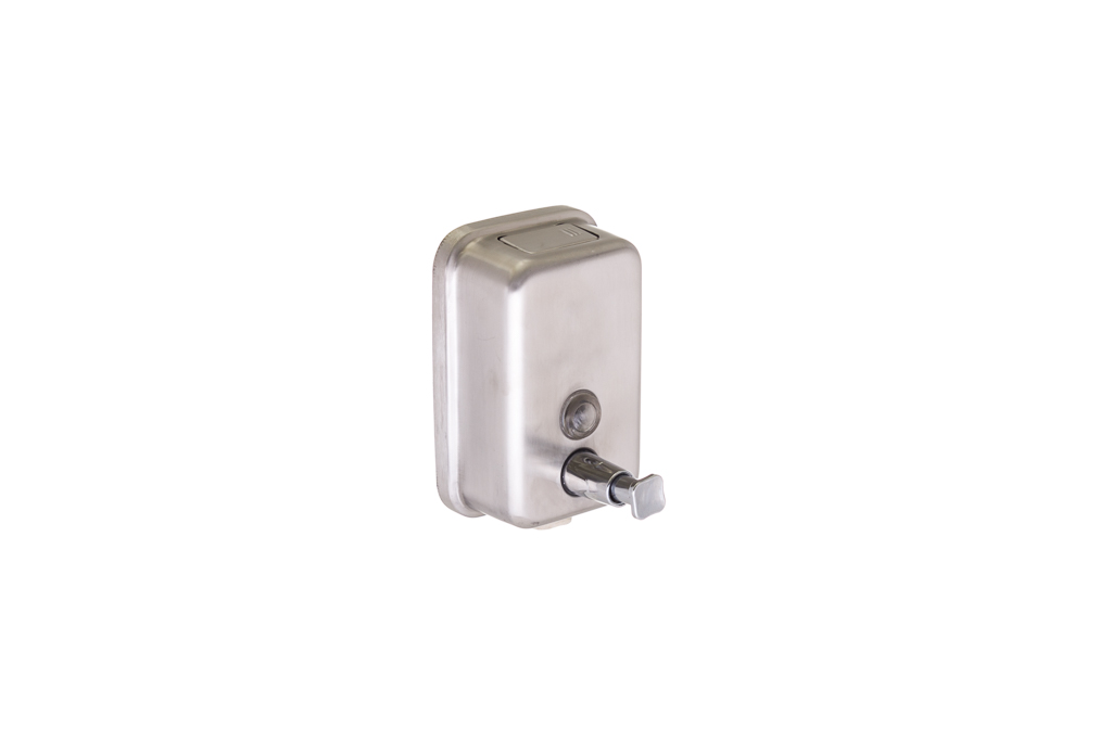 DISPENSADOR SABONETE LIQ. INOX 500ML 15.5X5.5X10CM