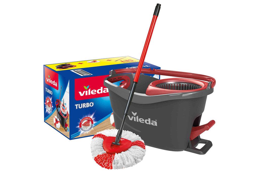 BALDE C/ ESPREMEDOR VILEDA SET TURBO 6L 48,6x29,6x29,3CM